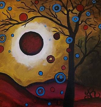 Burgundy Moon by Ginny Roberts