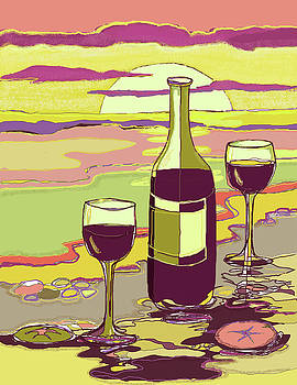 Peggy Wilson - Burgundy Sunset