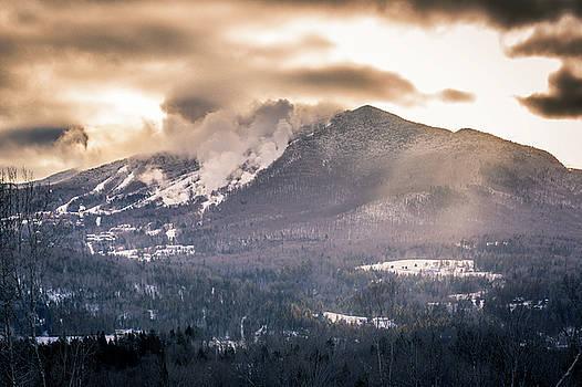 Burke Mountain Snowmaking by Tim Kirchoff