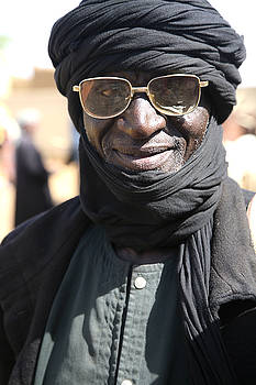 Burkina man by Marcus Best