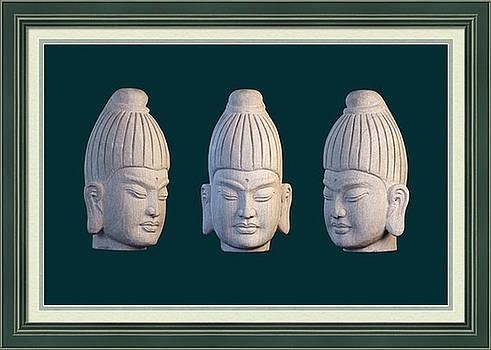 Burmese greeting card 2 by Terrell Kaucher