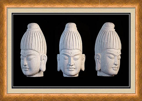 Burmese greeting card 1 by Terrell Kaucher