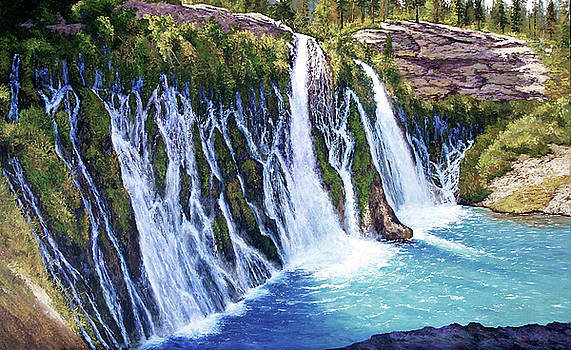Burney Falls by Donald Neff