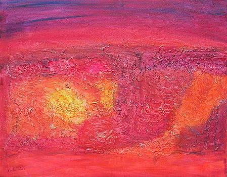 Burning Canyon by Rivka Waas