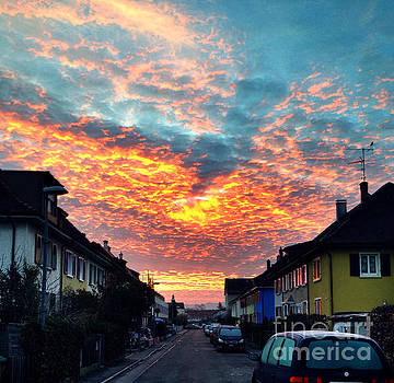 Burning Clouds by Selim Aydin