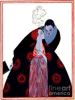 Burning Desire 1919 by Padre Art