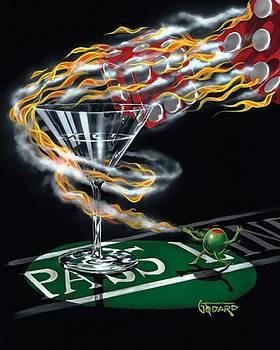 Burning It Up by Michael Godard