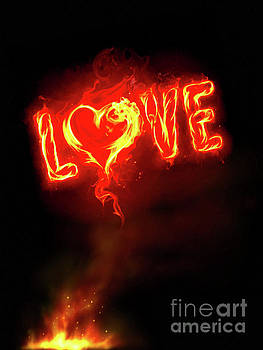 Burning Love by Jerry Bunger