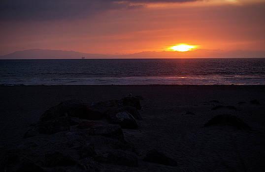 Burning Oxnard Sunset by Mythic Ink