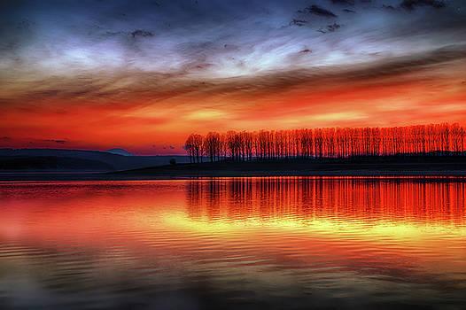 Burning Sky by Plamen Petkov
