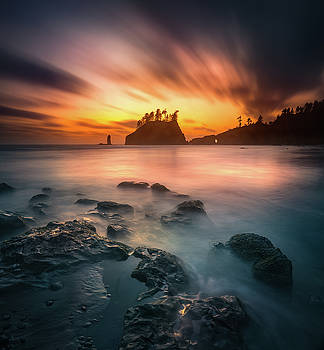 Burning sky by William Freebilly photography