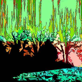 Burning Wood by Simone Pompei