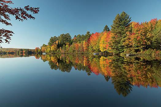 Burns Lake in Heavenly New Hampshire  by Matt Shiffler