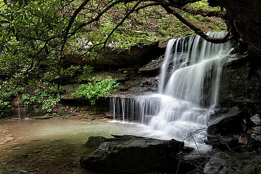 Burnt Cabin Run Falls #1 by Steve Konya II