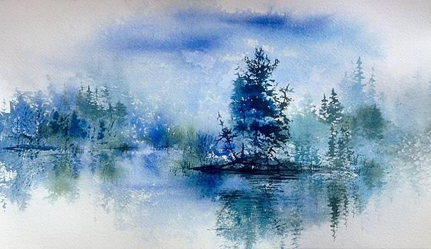 Burntside Blue by Sarah Guy-Levar