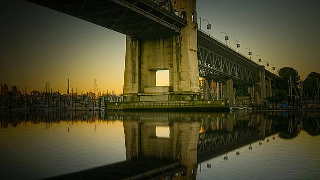 Burrard Bridge by Christopher Francis