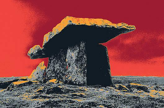 Burren Dolmen  by Shay Culligan