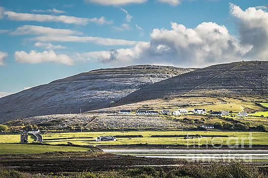 Burren landscape by Juergen Klust