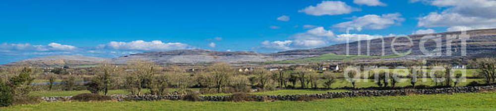 Burren Panorama by Juergen Klust