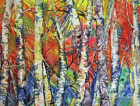 Burst of Birch by Betsy Bear
