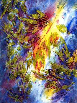 Burst Of Fall by Ramona Martin