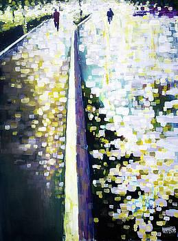 Burst of light after the rain by Zlatko Music