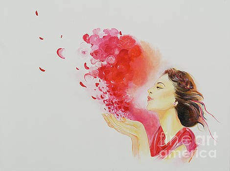 Burst of Love by Barbara Klimova