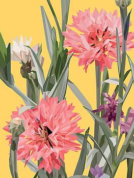 Burst - Yellow by David Lange