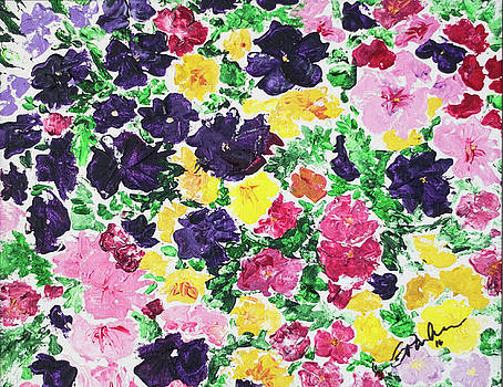 Bursting Spring by Gaynell Parker
