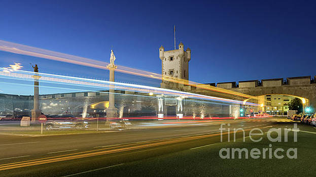 BUs Lights at Puertas de Tierra Cadiz Spain by Pablo Avanzini