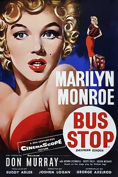 Daniel Hagerman - BUS STOP MOVIE LOBBY AD  1956
