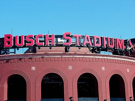 Busch Stadium Ball Park by J R Seymour