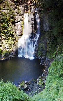 Bushkill Falls Pa. by Robert Biaselli