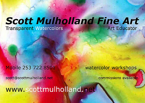 Business Card by Scott Mulholland
