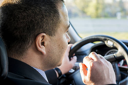 Newnow Photography By Vera Cepic - Business man driving a car