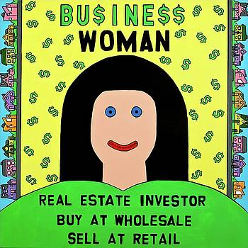 Business Woman by MaryAnn Kikerpill