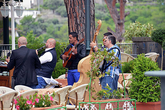 Harvey Barrison - Busker Band in Ravello - Take One