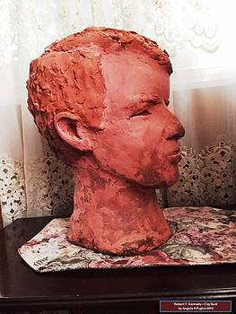 Bust JFK by Angela Puglisi