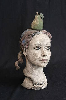 Bust Of A Girl by Kathleen Raven