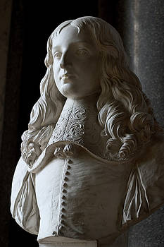 Bust of the King Louis 14th as a Boy by Carl Purcell