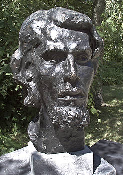 Bust of Unknown by Michael Rutland
