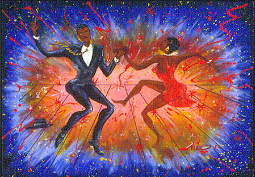 Busting Loose Boogie Blue  by Melvin Robinson