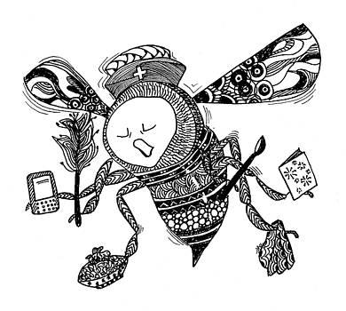 Busy Bee by Jan Steinle