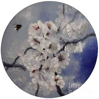 Busy Bumble Beee in Blossom by Lizzy Forrester