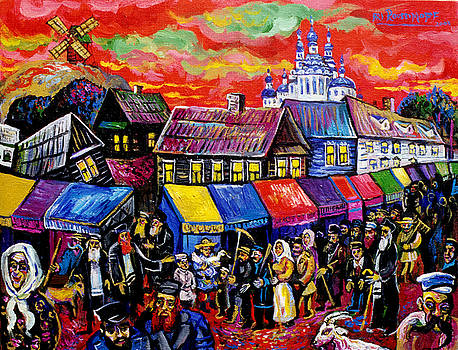 Ari Roussimoff - Busy Day At The Marketplace