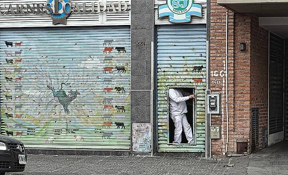 Butcher's shop, Buenos Aires 2014 by Chris Honeyman