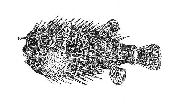 Buteteng Laot 1  Porcupine Fish 1 by Zeus Paredes