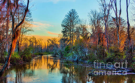 Butler Creek at Sunset by Gregory Schultz