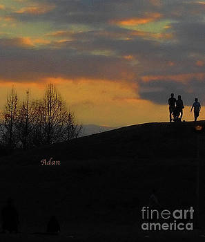 Felipe Adan Lerma - Butler Park Sunset Silhouette Austin Texas - One Detail Three Vertical