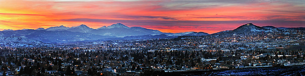 Butte Montana Panorama by Scott Wheeler
